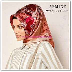 Armine 2016 spring-summer scarf collection
