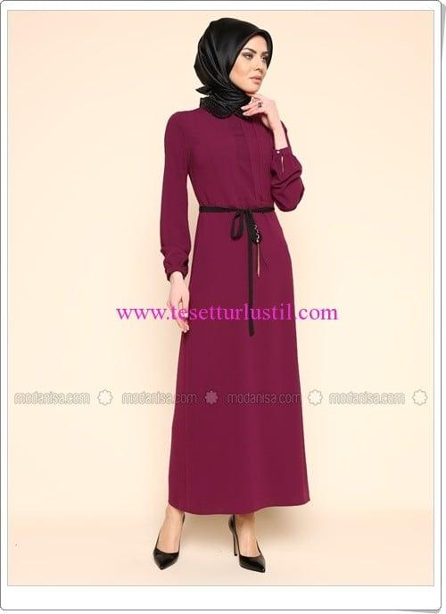 yakasi-payetli-elbise-murdum-puane-180 TL