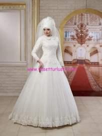 osmanlı moda-OG1516-tesettür gelinlik
