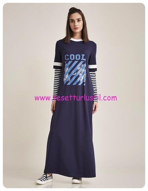 01a6c53a32709 Kayra 2017 Yeni Sezon Genç Tesettür Elbise Modelleri   Tesettürlü Giyim  Stilleri