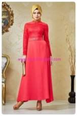 nihan pembe abiye elbise-180 TL