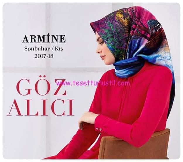 Armine eşarp koleksiyonu 2017