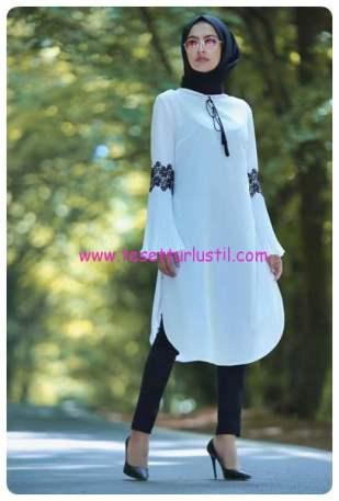 tofisa-tunik-pantolon-sal-kombin-beyaz-siyah-140 TL
