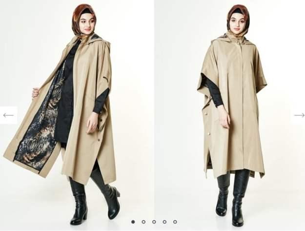 armine camel pelerin kap-200 TL