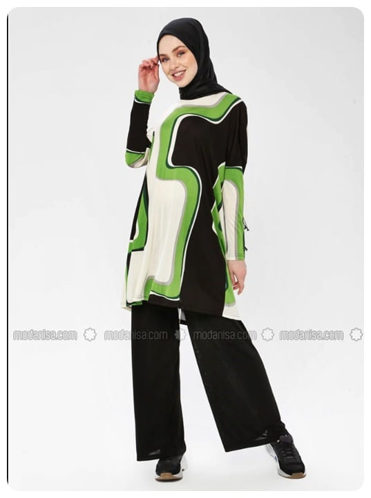 meryem-acar-yesil-siyah-tunik-pantolon-takim-176-TL