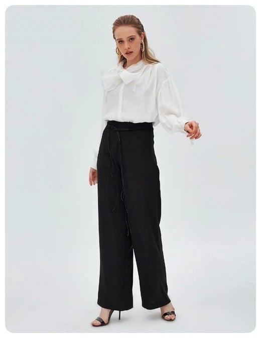 orgu-kemerli-bol-paca-siyah-pantolon