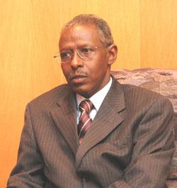 Eritrea's Presidential Advisor, Mr. Yemane Ghebreab