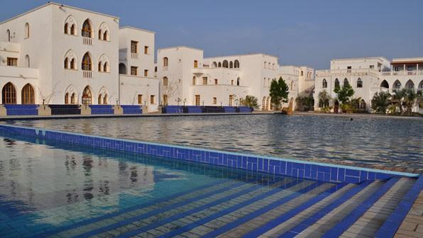 One of the 5-star hotels in Massawa - the Grand Dahlak Hotel
