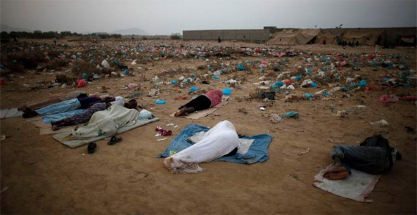 There are more than 1.5 million refugees in Yemen. Yemeni Coast Guard Authority officials said that most illegal immigrants die during the dangerous trips. If they do not die during the trip, they arrive at their destination in bad health conditions that eventually causes chronic diseases.