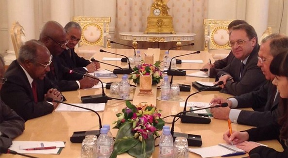Russian - Eritrean Foreign Ministers talks started in Moscow. Time to boost the existing relations at all fronts.