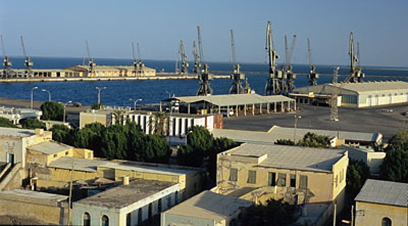 Assab Port Harbour