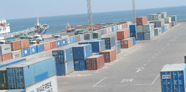 Massawa container terminal after the expansion