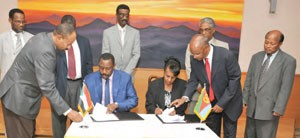 Agreed. Health Minters of Eritrea and Sudan in Asmara