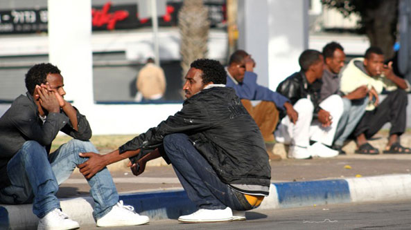 Frustrated by the only choice of either leaving Israel or facing indefinite detention in a remote desert facility with no work, economic migrants from Eritrea have started to return home in droves.