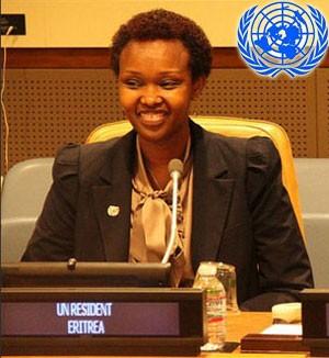 Christine N. Umutoni, UN Resident / Humanitarian Coordinator in Eritrea