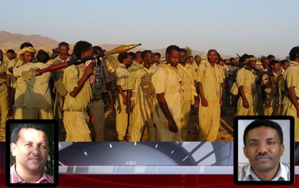 ESAT establish its first contact with the three defected high profile Ethiopian Air Force pilots