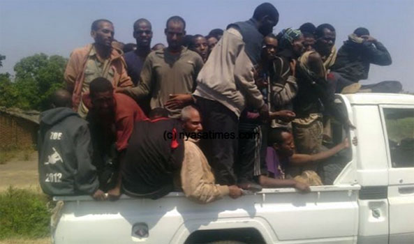 Malawi Police and court continue imposed stiff penalty and deportation sentence on illegal Ethiopian migrants in the country