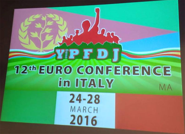 12th Euro YPFDJ Conference goes to Italy