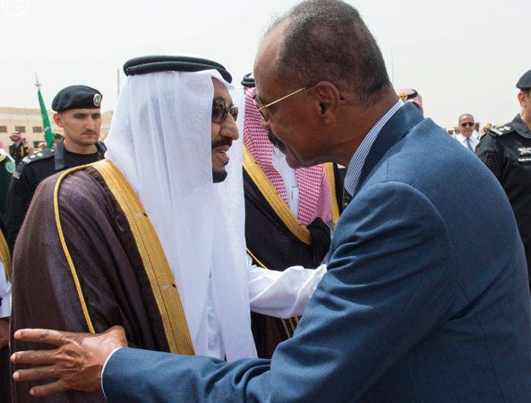 President Isaias on State Visit to Saudi Arabia