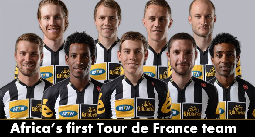 Two Eritrean Riders to Lead African Team at the Tour de France