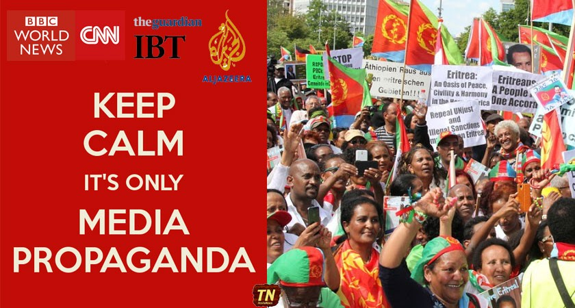mainstream media coverage on Eritrea has been completely one-sided propaganda
