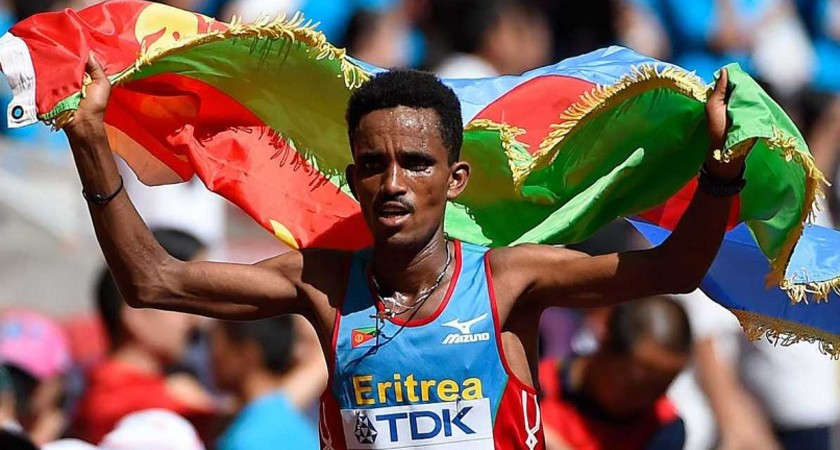 Eritrea's Teenage Hero to Challenge Kenyan's at London Marathon