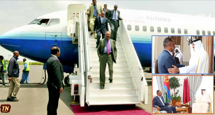 President Isaias Concludes Four Days Qatar Visit