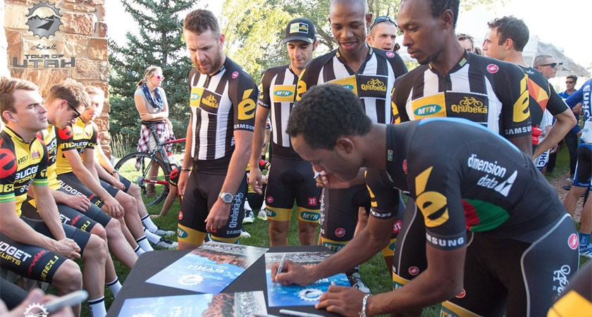 Eritrean Champ Natnael Berhane Targets GC at Tour of Utah
