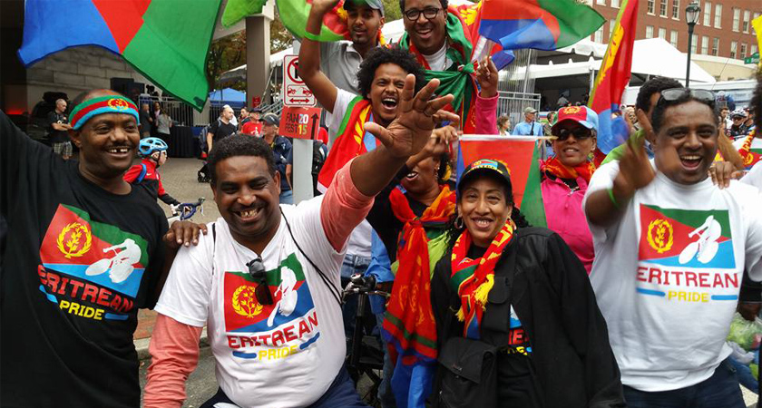 Eritrean Fans Were the Biggest and Loudest at the World Championships in Richmond