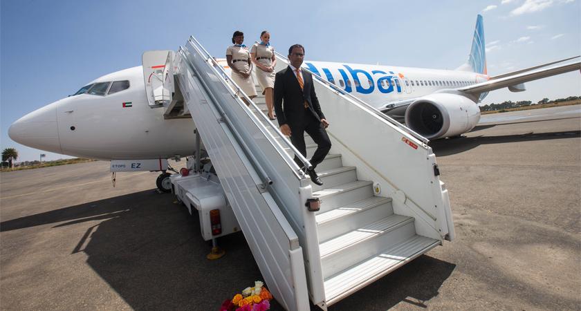 flydubai Arrives in Asmara, Eritrea