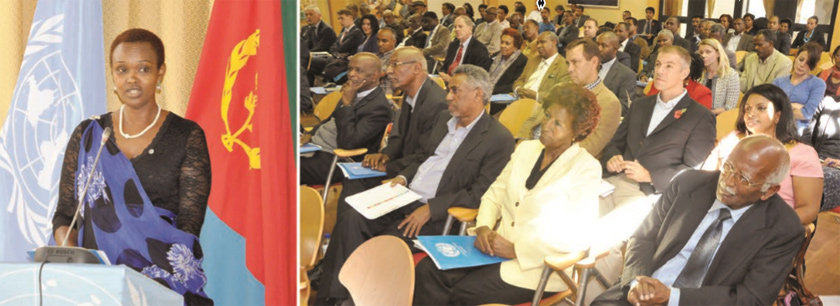 UN hosted a UN-Day event on Eritrea's transition from the Millennium Development Goals (MDGs) to the Sustainable Development Goals (SDGs)
