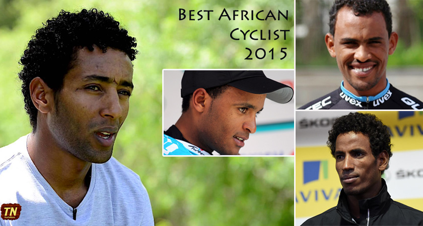 Best African Cyclist 2015 nominees