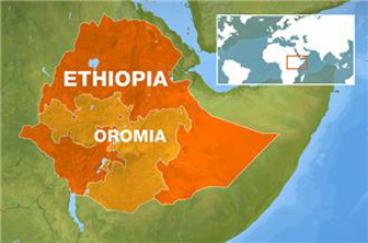 The Oromo ethnic group are the single largest ethnicity in Ethiopia