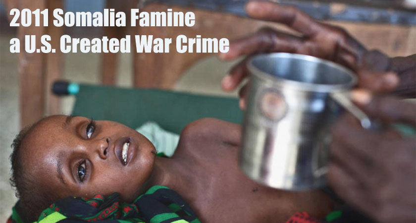 The 2011 Somalia Famine was a US Created War Crime: Alex Perry