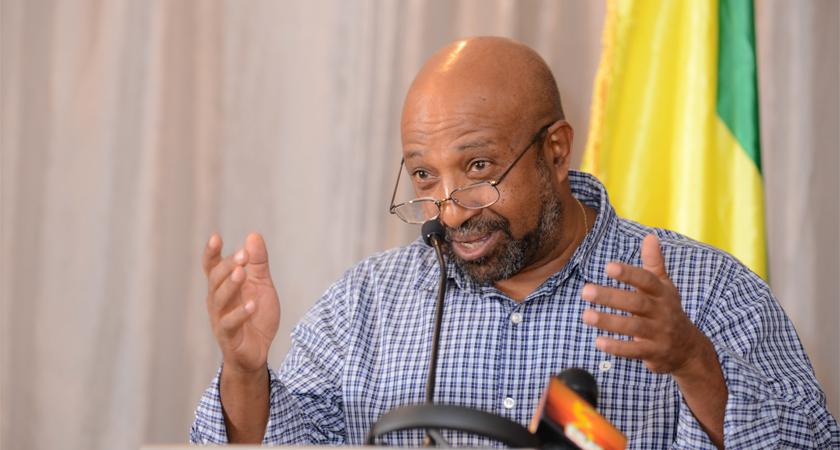 Successful Washington D.C. Public Seminar by Dr. Berhanu Nega