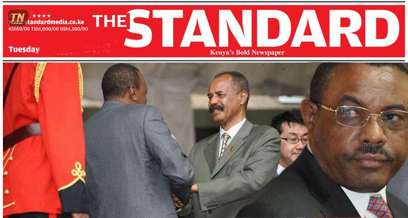 Ethiopia, Kenyan Media and Eritrea's Relation With Kenya