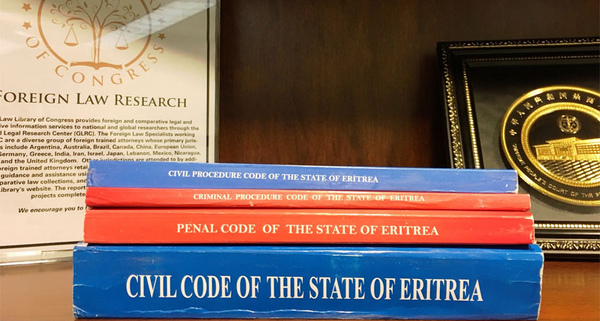Library of Congress: New Eritrean Codes Now Available to Researchers