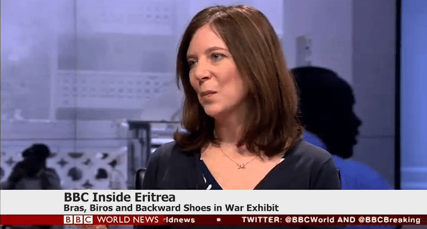 Inside Eritrea: Bras, Biros and Backward Shoes in War Exhibit