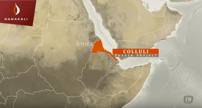Colluli Potash project in Eritrea