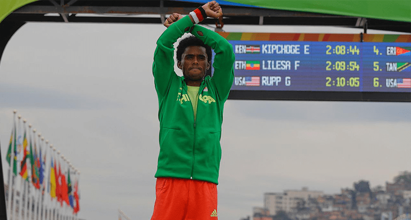 Sport and Resistance: Lilesa's Brave Stand for Freedom in Ethiopia