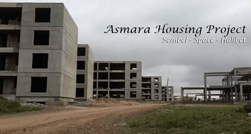 Over 40 Percent of Asmara Housing Project Accomplished