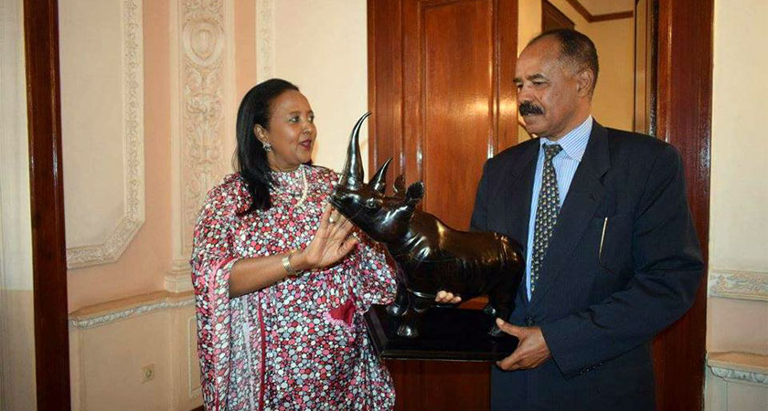 Kenya's Foreign Minister Lobbying Eritrea's Support for AU Chair Position