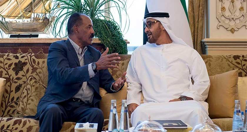 Sheikh Mohammed bin Zayed Al Nahyan meet President of Eritrea