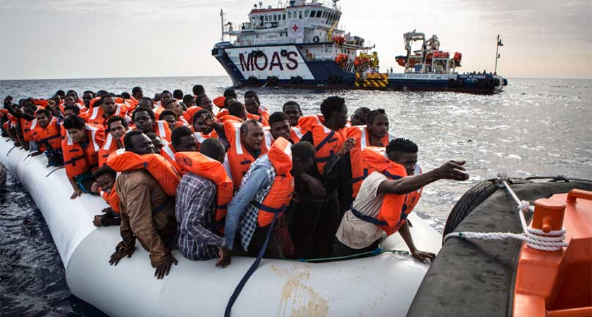 Fewer Migrants at EU Borders in 2016: Frontex