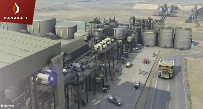 """Danakali has signed a binding """"take-or-pay"""" offtake agreement with EuroChem for Colluli Potash"""