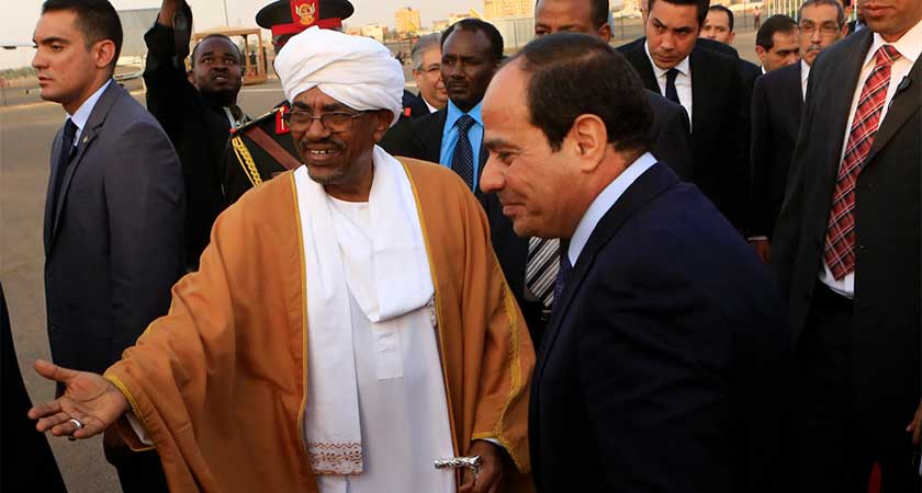Sudan Accuses Egypt of Backing Opponents