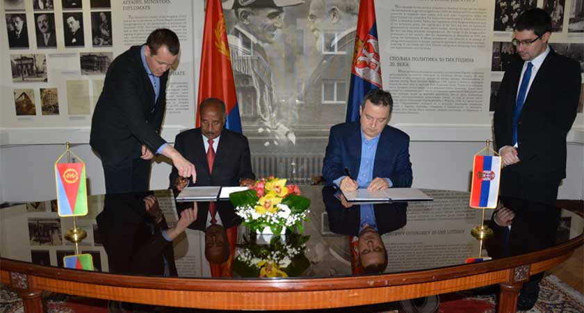 Great prospects for cooperation between Eritrea and Serbia