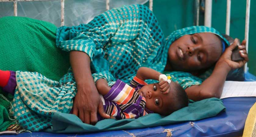Somalia starvation claiming lives