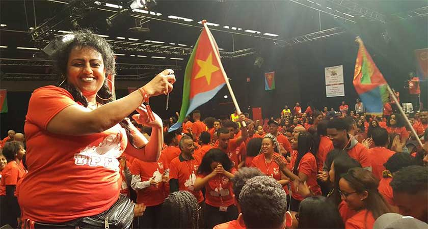 YPFDJ Conference: Expression of Eritrean March to Greatness