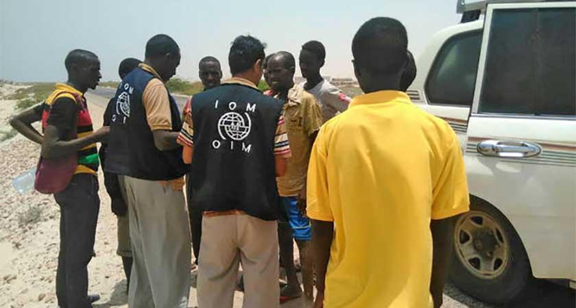 Somali and Ethiopian migrants drown off Yemen coast
